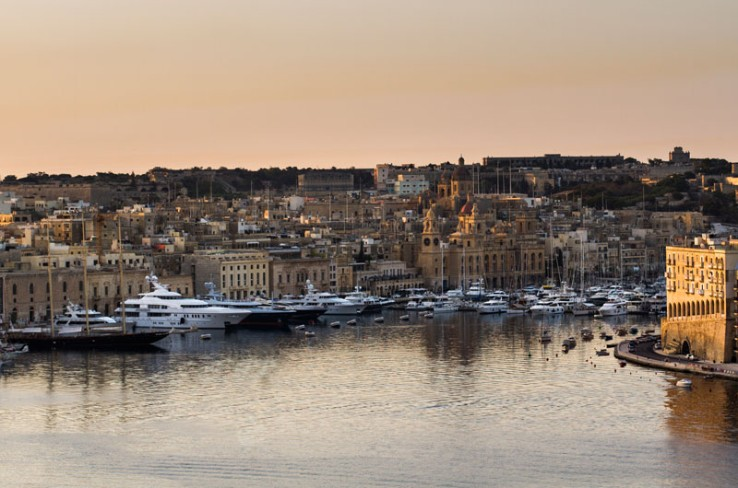 Malta, Grand Harbour Marina  © de.cnmarinas.com